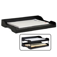 Arnos Document Tray Eco Tidy Wide Entry - Black