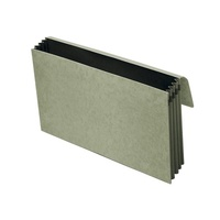 Marbig Expanding Wallet Foolscap  Heavy Duty With Flap - Grey