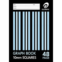 Olympic Graph Book A4 10mm 48 Pages 20 Pack