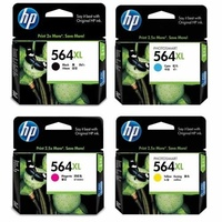 HP 564XL Ink Cartridge SET 4 (Black,Cyan,Magenta,Yellow) High Yield  - Gst Include invoice Supplied