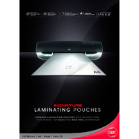 GBC A4 Laminating Pouches Signature 125mic 25 Pack