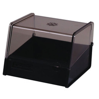 Esselte System Cards Box 5x3 PVC Charcoal