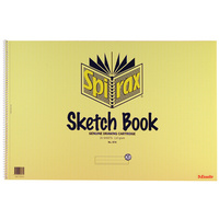Spirax Sketch Book 574 367x540mm - 40 Pages