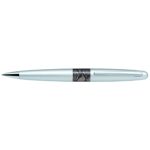 Pilot Metropolitan MR2 Python Silver Barrel Medium Ballpoint Pen
