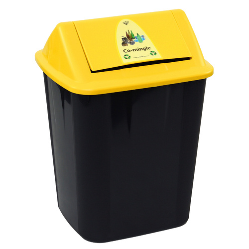 Italplast Waste Seperation Bin 32L - Yellow