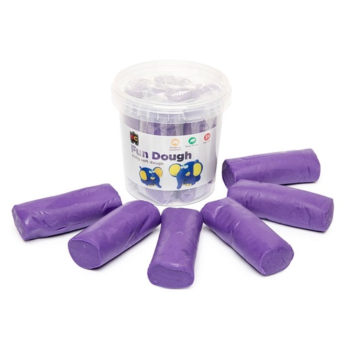EC Fun Dough Clay 900g Soft Dough Bucket 6 - Purple