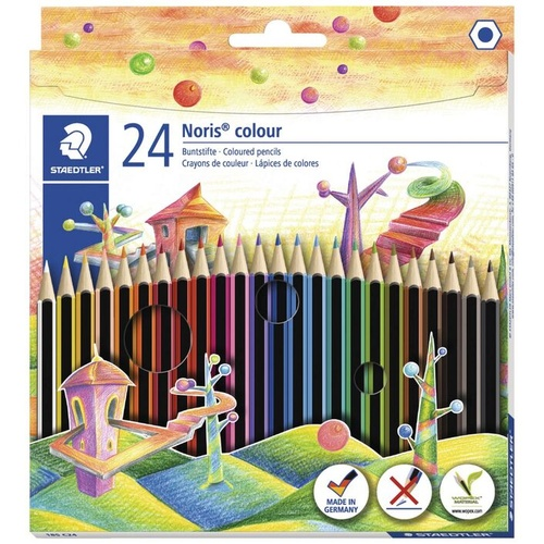 Staedtler Noris Coloured Pencil Set 24 Pack