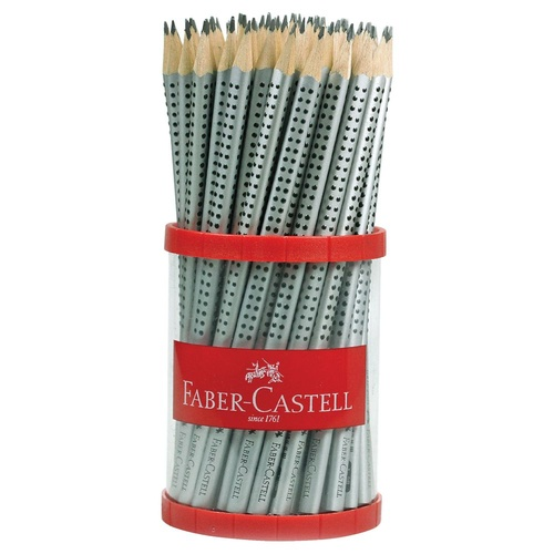Faber Castell Triangular Grip 2001 Lead Pencils HB - 72 Pack