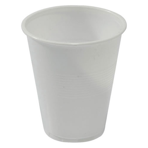 50 X Capri Disposable Cups Plastic 200ml 7oz