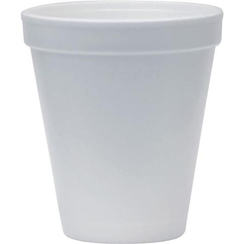 Capri Disposable Foam Cup Hot Drink Coffee, Tea Cups 225ml - 1000 Pack