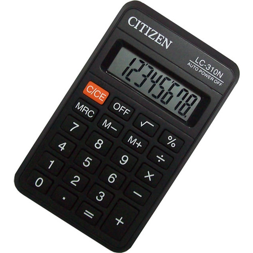 Citizen Calculator LC310N Small Desk