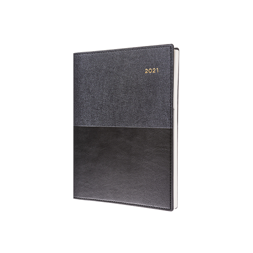 Collins A4 2 Day to Page 2021 Vanessa Diary - Black