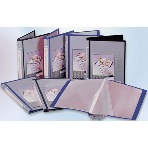 Bantex Display Book A4 Insert Fixed 40 Page - Navy