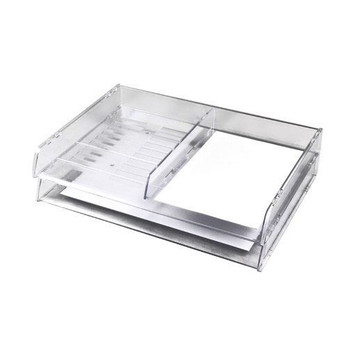 Italplast Document Tray A3 Stackable - Clear