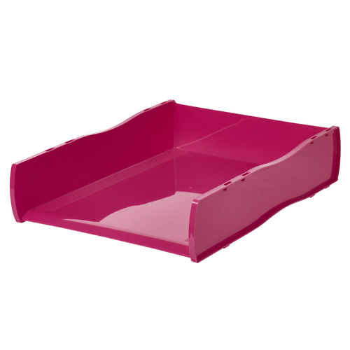 Esselte Document Tray Vibrant Summer Colours - Pink