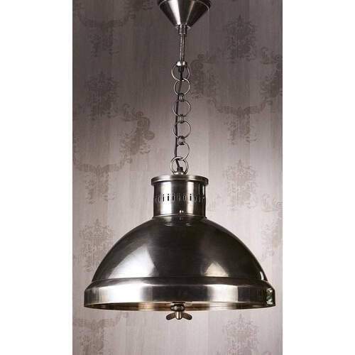 Madison Hanging Lamp Pendant Light Rustic -Silver - ELPIM50494AS