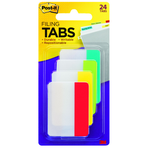 Post It 3M Durable 686AYLR Hanging Tabs