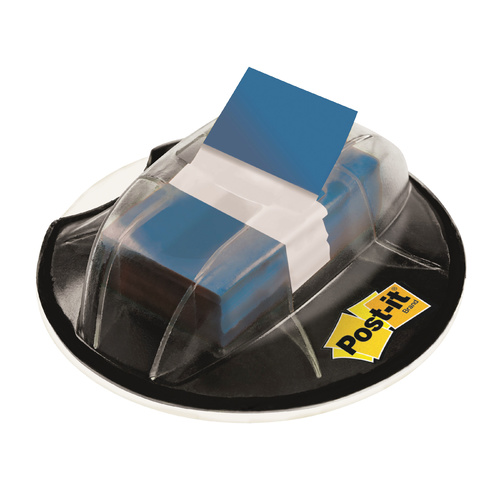 Post-it Flags 25mm 680-HVRD Desk Grip Dispenser Blue - 200 Pack