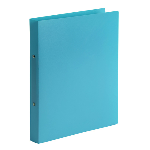 Marbig Binder Folder A4 2 D-Ring 25mm Soft Touch - Marine