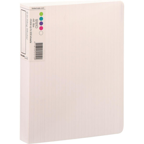 Quill Barkode 2R Binder A5 25mm - White