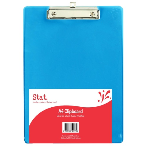 Sovereign A4 Acrylic Clipboard - Blue