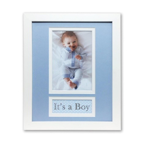 Profile Photo Frame Picture Frame Its A Boy Vertical 20 x 25cm
