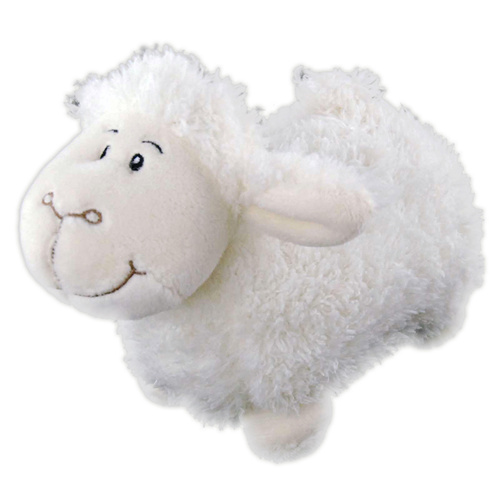 Elka Soft Plush Toy Baby Lambkin Lamb 14cm - White