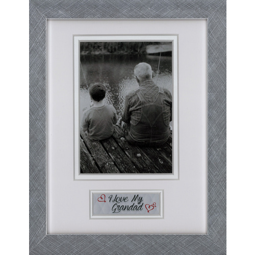 Profile Photo Frame Picture Frame I Love My Granddad 15x20cm