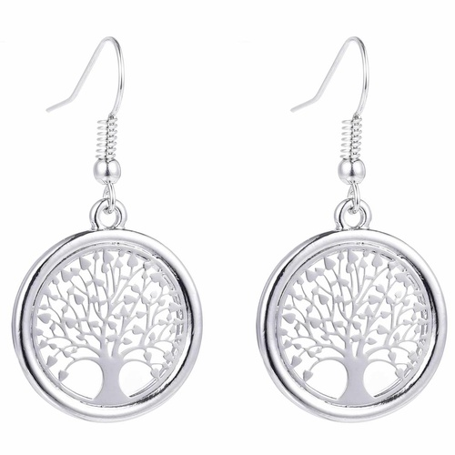 Silver Tree of Life Earring Beautifully Boxed