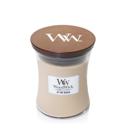 Woodwicks Hourglass Candle 275g Premium Soy Wax - At The Beach