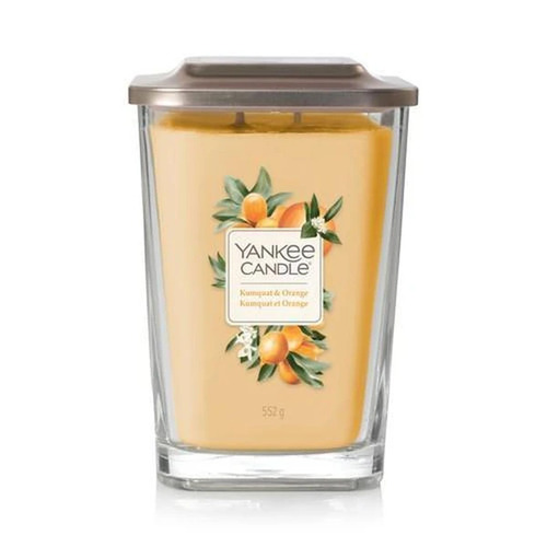 Yankee Candle Large Square Jar - Kumquat Orange