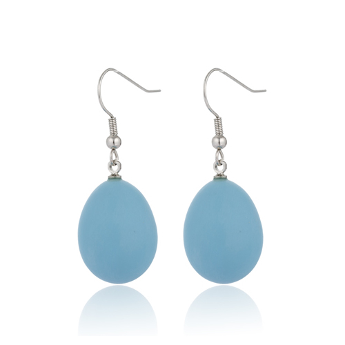 Earrings Tear Drop Fashion Dangle Earrings E350164 - Blue