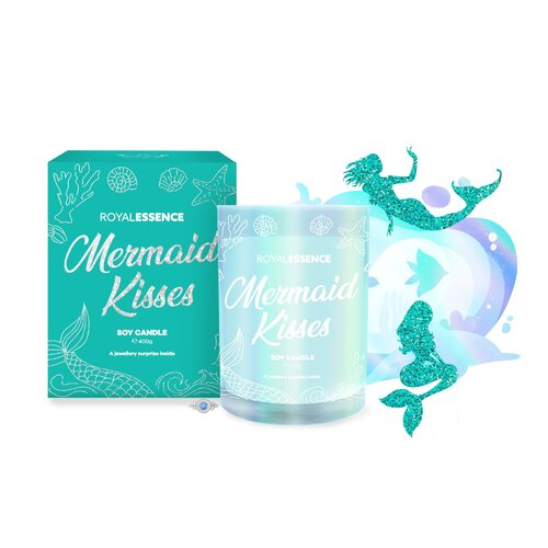 Royal Essence 400g Soy Candle - Mermaid Kisses (Necklace)