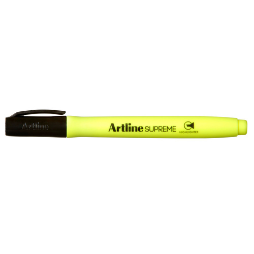 Highlighter Artline Supreme Yellow - 12 Pack