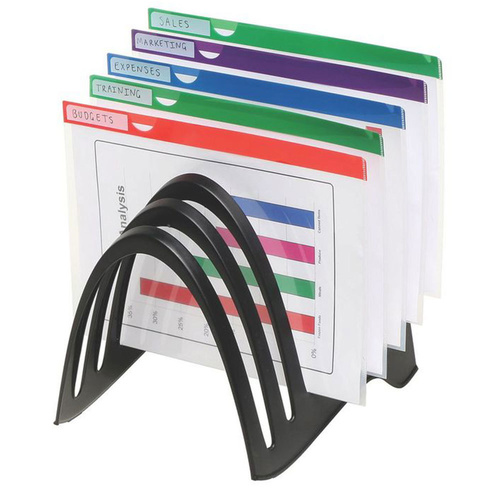 Marbig Recycled FoldaRack Organiser Holder Stand For Home/Office Up To A4 Size