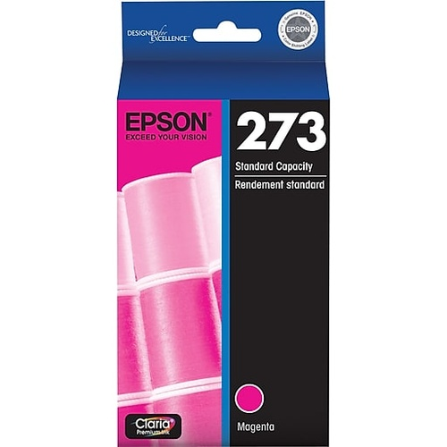 Epson Genuine 273 Magenta Ink Cartridge - Magenta