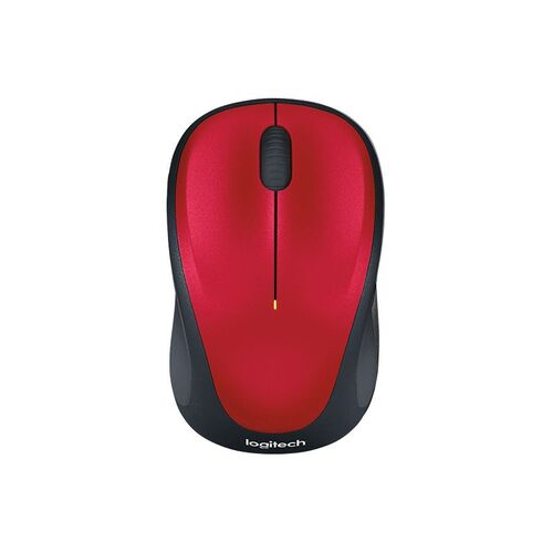 Logitech M235 Wireless Mouse - Red
