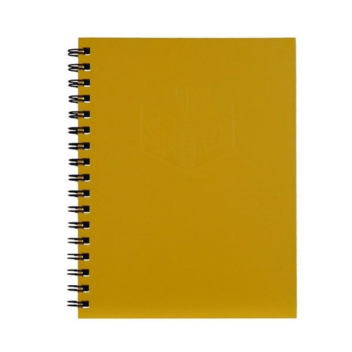 Spirax 511 A5 Hardcover Side Opening Notebook - Yellow