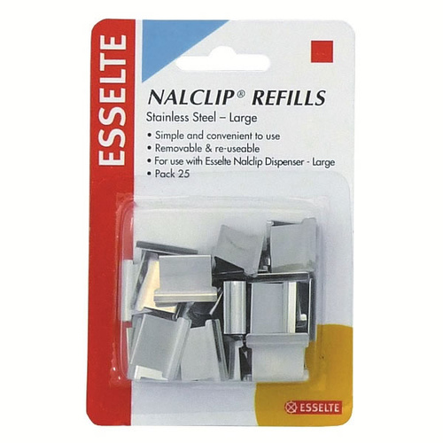 Esselte Nalclip Refill Large - 25 Pack