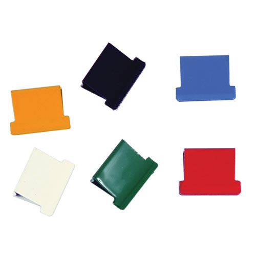 Esselte Nalclip Refill Small 50 Pack Assorted Colours