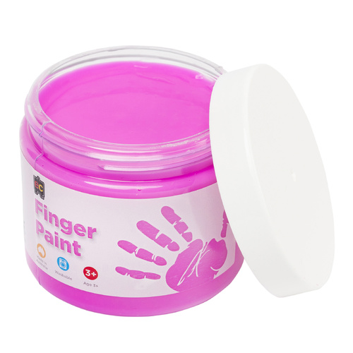 EC Paint Finger Paint Washable Non Toxic Non Staining 500ml - Pink