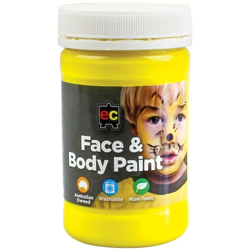 EC Face and Body Paint 175ml - Yellow