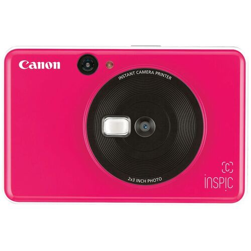 Canon Inspic C Instant Camera Pink