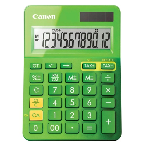 Canon Calculator LS-123K Mini Desktop - Metallic Green