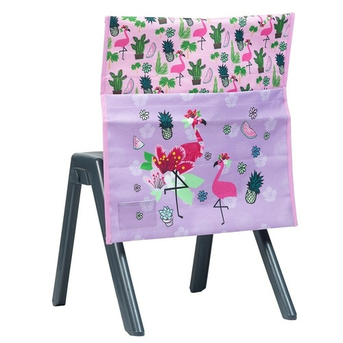 Spencil Chair Bag - Fancy Flamingo