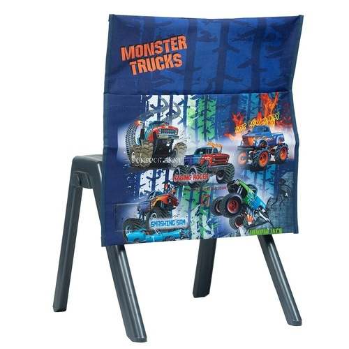 Spencil Chair Bag - Monster Trucks
