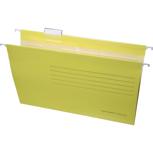 Esselte Suspension File Foolscap Handy Tab 10 Pack - Yellow