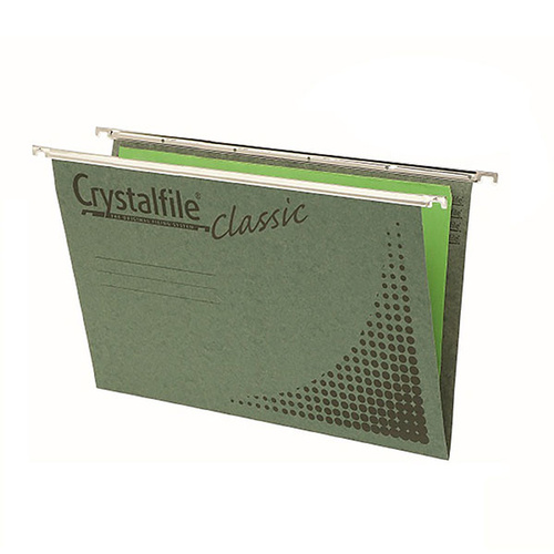 CabinetFile Suspension File Foolscap Files Only Green - 50 Pack