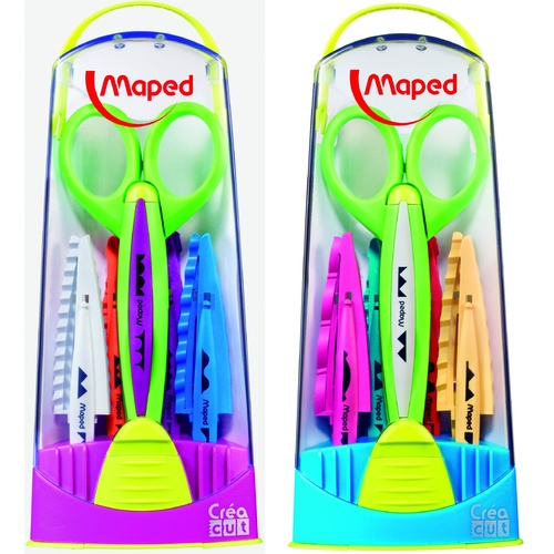 Maped Scissors Crea Cut Craft Scissors With 5 Assorted Blades