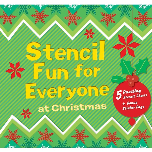 Book Stencil FMP Fun For Everyone At Christmas